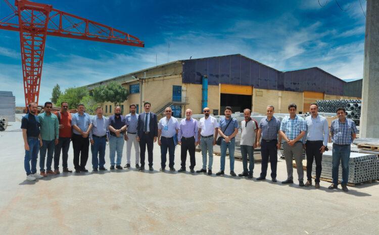 بازدید نمایندگان وزارت کهربا عراق