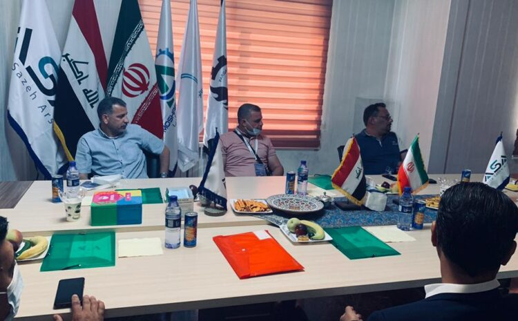 بازدید نمایندگان توزیع برق عراق